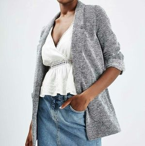 Top shop twill boyfriend blazer
